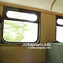 The tram inside