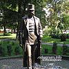 Franz Joseph I monument (2009), the public garden, M.Korduba St.