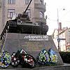The tank of Lieutenant P. Nikitin crew, Haharin St.
