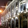 O. Kobylyanska St. in the evening