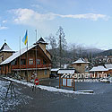 The territory of Myhovo ski resort