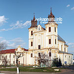 Dominican monastery (17th century), сhurch, сlerical сhambers, monk cells, wall with gates, Bohorodchany town