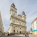 Бывший костел Святого Воскресения Христового (1763 г.), сегодня - кафедральный собор Святого Воскресения Украинской греко-католической церкви