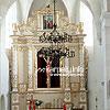 The interrior of St. Nicholas Catholic church