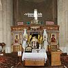 The interior of the church of St. Panteleimon (12th cen.), Shevchenkove village