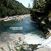 Probiy waterfall, the Prut river