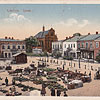 Rynok Square, early 20th cent. (the image is taken from artkolo.org)