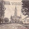 Євангелистська церква, Баґінсберґ (німецька колонія у Коломиї) на поч. XX ст. (листівка, зображення з сайту <a href=&quot;http://artkolo.org&quot;>artkolo.org</a>)