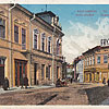 Коломия, вул. Косцюшко – вид на Кав'ярню Центральну, 1917 р. (листівка, зображення з сайту artkolo.org)
