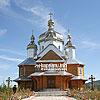 Новозбудована церква, с. Сливки