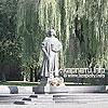 Пам'ятник Юрію Дрогобичу (Котермаку) авторства відомої скульпторки Теодозії Бриж