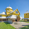 Успенська церква з дзвіницею (1739), с. Лелехівка