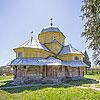 Успенская церковь с колокольней (1739), с. Лелеховка