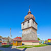 The bell tower of St. George church (1746), Yavoriv town