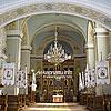 Интерьер здания бывшего костела Христа Царя (1925-1936), сегодня - греко-католическая церковь Рождества Пресвятой Богородицы, ул. Отца Издрика, 6