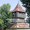 The bell tower (17th cen.) of St. Michael Catholic church