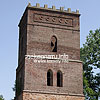 The bell tower of the church of St. Martin (15th-16th cent.), Skelivka village