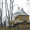 Дзвiниця церкви св. Михаїла (1730, зліва), с. Ясениця-Замкова