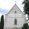 Центральний фасад костелу Успіння Діви Марії