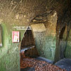 The cave monastery (15th cen.), Rozhirche village