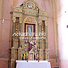 Бічний вівтар костелу Пресвятої Трiйцi