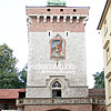 St. Florian's Gate (first mentioned in 1307)