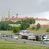 Архитектурный комплекс королевского замка Вавель (XIII-XVII вв.) на берегу р. Висла