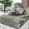 Скульптуры львов около Ратуши