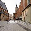 Историческая часть города (переулок между Марианским костелом и костелом св. Варвары)