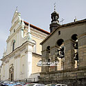 Catholic church of St. Teresa and the Discalced Carmelite monastery (17th cent.)
