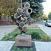 """Памятник """"пчелке-труженице"""""""