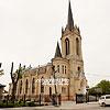 Колишня лютеранська кірха, тепер - баптистська церква (1906), м. Луцьк, вул. Караїмська, 16