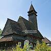 Николаевская церковь (верхняя) с колокольней (1428, 1600, 1760), с. Среднее Водяное