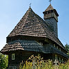 St. Nicholas church (the lower one) (middle 17th cen.), Serednye Vodyane village