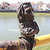 Мініатюрні скульптури на вулицях міста
