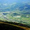 Вигляд на село Гукливий з гори Плай