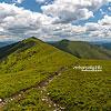 Слева направо - горы Негровец, Горб и Стримба (Национальный природный парк «Синевир»)